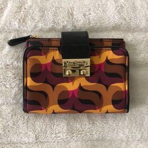 Vera Bradley Pushlock wallet in Modern Lights